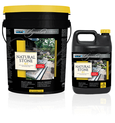 Signature Series Natural Stone Sealer - Zero Gloss