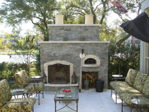 q-Hudson-granite-stone-outdoor-fireplace